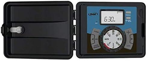 Orbit 94896 - 6 Estacion 'Easy-Set Logic' Programador Automatico Para Sistemas De Riego - Exterior