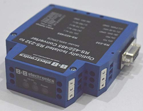 B&B Electronic 485LDRC9 Optically Isolated RS-232 to RS-422/485 Converter from Isha Marine International