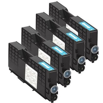 Clearprint 885317, 885318, 885319, 885320 Compatible Color Toner Set for Ricoh Aficio 1224C, 1232C printers