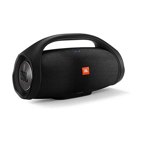 JBL Boombox Enceinte Portable - Son Ultra Puissant - Modes de Son Intérieur & Extérieur - Autonomie 24 hrs - Étanche pour Piscine & Plage, Bluetooth, Noir 1