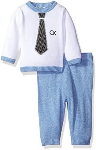 Calvin Klein Baby Boys' Sweater With Pants Set