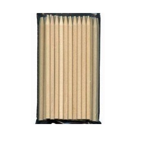 Oasis Supply Wooden Candy Apple Sticks, 10-Inch, 50-Pack OA 88/69-50