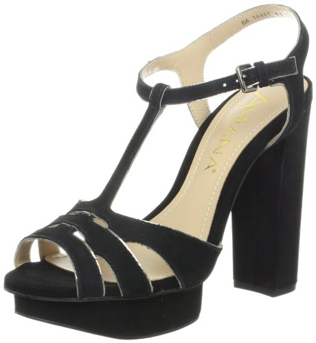 Amiana Mujeres 12-14407 / 76 Sandal Black
