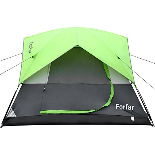 Forfar Camping Tent Double-layer Waterproof Outdoor 3-person 3-season Family Tent