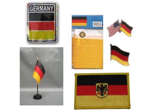 Moon Germany Heritage Flag Set  - Bright Color UV Resistant