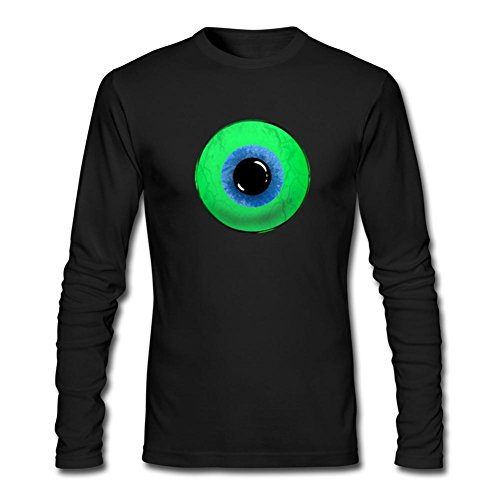 (Dotion Men's Jacksepticeye Long Sleeve T Shirt Black )
