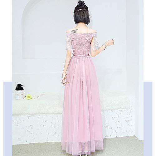 Fête De Robes Styles Pour Rose Mariage D'honneur Soirée Bozevon Robe yf76vYgb