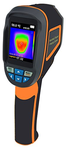 Perfect-Prime IR0002, Infrared (IR) Thermal Imager & Visible Light Camera with IR Resolution 3600 Pixels & Temperature Range from -20~300°C, 6Hz Refresh Rate by Perfect-Prime