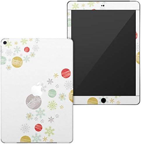 igsticker 第6世代 第5世代 iPad 9.7インチ iPad 6 / 5 2018/2017年 モデル A1893 A1954 A1822 A1823 全面スキンシール apple アップル アイパッド タブレット tablet シール ステッカー ケース 保護シール 背面 015256 雪 雪の結晶 クリスマス