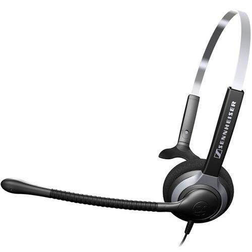Sennheiser Over The Head Headset - Sennheiser SH 230 IP Headset - Mono - Wired - 180 Ohm - 150 Hz - 6.80 kHz - Over-the-head - Monaural - Semi-open - 3.28 ft Cable - 504012