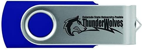 LXG Pueblo-8GB 2.0 USB Flash Drive-Blue Inc California State University