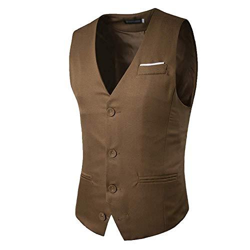 Seul Un Xdljl Rang Boutons Veste Monsieur À Kaki Poitrine Costume Trois Correspondant Tailleur Couleur De Homme 0qw8fH0
