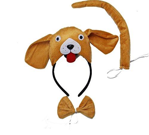 Kirei Sui Dog 3D Headband Costume Set -