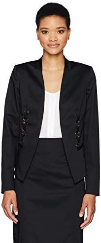 Jones New York Womens Laceup Blazer