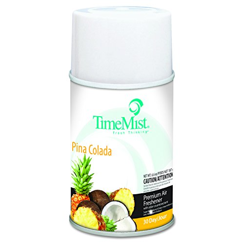 TimeMist 1042690EA Metered Fragrance Dispenser Refill, Pina Colada, 6.6 oz, ()