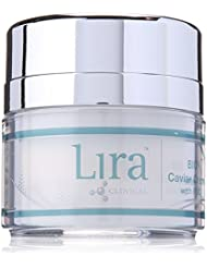 Lira Clinical- BIO Caviar Creme- Luxury Anti Aging Face Cream With Colloidal Silver & Gold (1 Ounce)