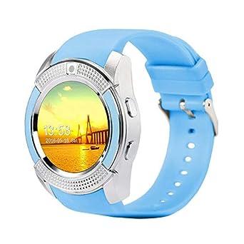 Reloj Inteligente para Hombres con cámara Smartwatch Podómetro ...