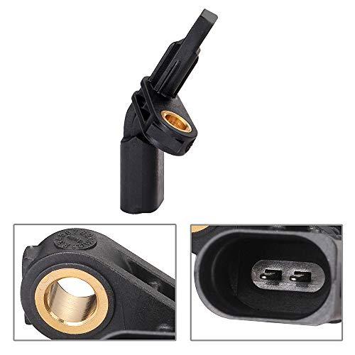 ECCPP Front Right ABS Wheel Speed Sensor Compatible with 2006-2013 Audi A3,2008-2011 Audi TT,2004-2005 Porsche Carrera GT,Vw Beetle Golf City GTI Jetta Bora CC Eos ALS467 Set of 1