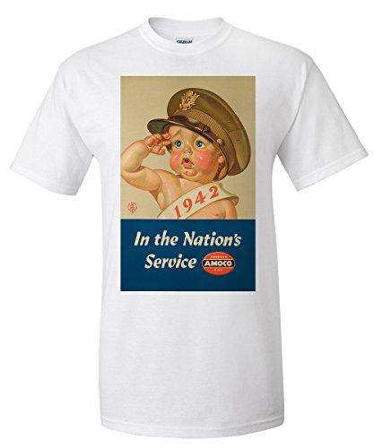 amoco-in-the-nations-service-vintage-poster-artist-leyendecker-joseph-c-usa-c-1942-white-t-shirt-sma