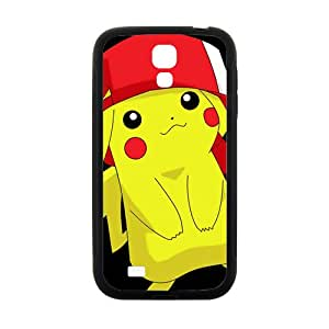 JIANADA Pikachu Pocket Monster Black Samsung Galaxy S4 case