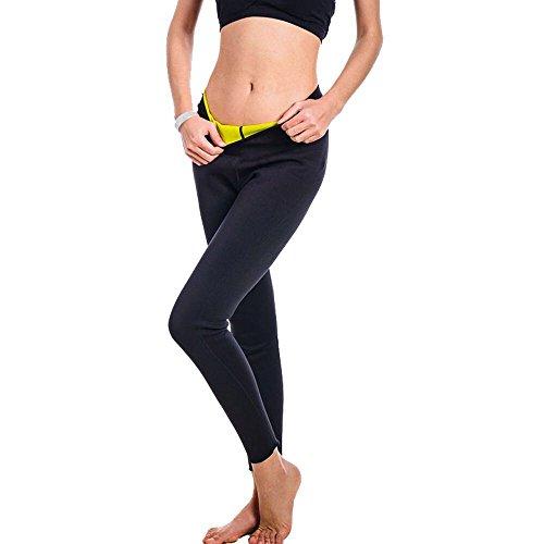 Women's Body Shaper Neoprene Thigh Control Lose Weight Burning Extra Calories Fat Hot Sweat Sunna Capris Leggings Shorts Pants XXXL