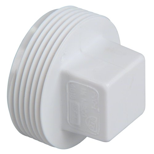 NIBCO 4818 Series PVC DWV Pipe Fitting, Plug, 1-1/2