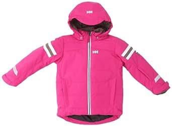 Helly Hansen - Chaqueta de esquí infantil, tamaño 10 años, color hot rosa