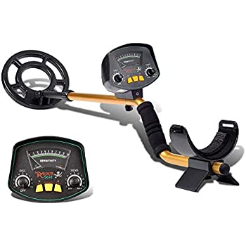 ETE ETmate Professional Metal Detector MD-3009II Used as Portable Gold Detectors and Treasure Finder Detectors 8 Inches Adjustable Sensitivity