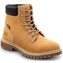Timberland PRO 6-inch Direct Attach Women's, Wheat, Slip Resistant, Steel Toe, EH, Waterproof, Insulated Boot