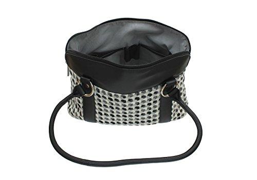 Cuir En 40 Abertweed Mala Sac Leather Noir Tweed Bandoulière Et Collection À 719 wYPqRE0P