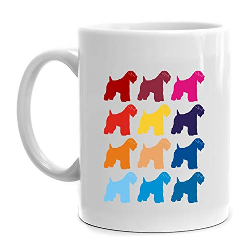 Eddany Colorful Soft Coated Wheaten Terrier Mug 11 - Mug Terrier Soft Coated Wheaten