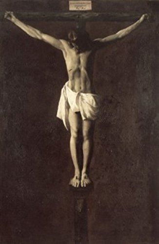 Christ on the Cross Francisco de Zurbaran (1598-1664Spanish) Oil on Canvas Art Institute of Chicago Illinois USA Poster Print (24 x 36)