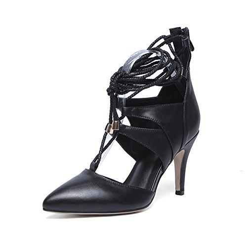 Scarpe Da Pompa Da Donna Minivog Con Cinturino Alla Caviglia