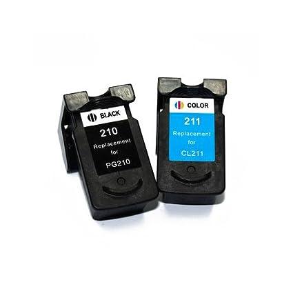 PG210 x l + CL210 X L cartucho de tinta para Canon PG-210 XL ...