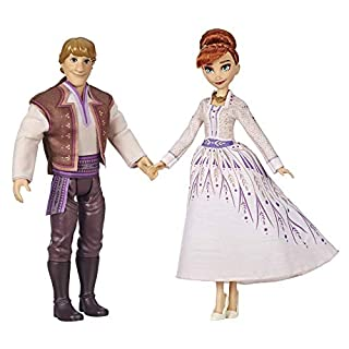 Disney Frozen Anna & Kristoff Fashion Dolls 2 Pack, Outfits Featured In The Frozen 2 Movie