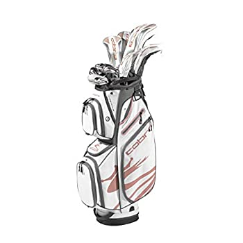Image of Golf Cobra Golf 2020 Airspeed Complete Set White-Copper (Women's, Right Hand, Graphite, Ladies Flex, 15.0, 3W, 5W, 7W,5H,6-PW,SW,Putter, Bag)