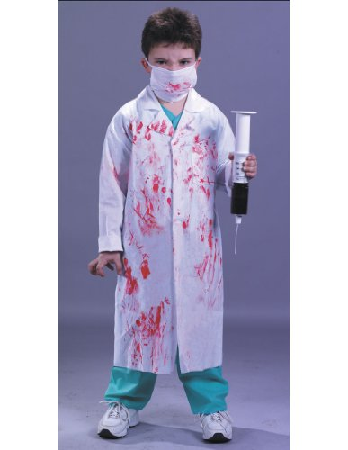 [Dr Kill Joy Child Small] (Zombie Doctor Childrens Costumes)