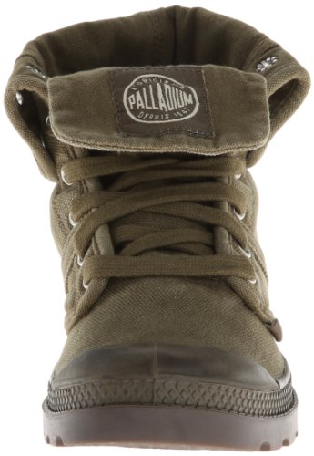 Palladium PALLABROUSE BAGGY'DK OLIVE/DK GUM'M - Casual de lona mujer, color multicolor, talla 41