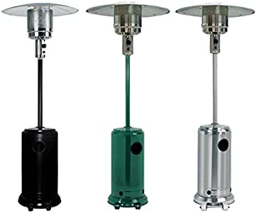 Thulos Estufa de Exterior Ideal para: Terrazas, Jardines, Patios TH-EXT10 (Verde): Amazon.es: Hogar