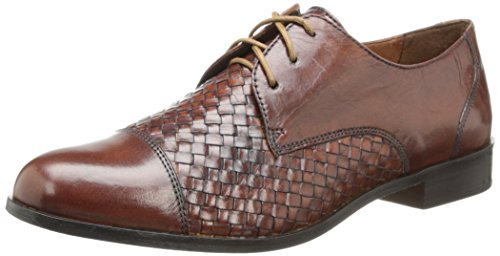 Cole Haan Women's Jagger Weave with Laces Oxford, Sequoia, 5 B - Haan Cole Sequoia