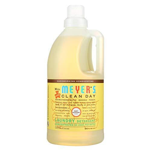 - Mrs. Meyers 2X Laundry Detergent - Baby Blossom - 64 oz