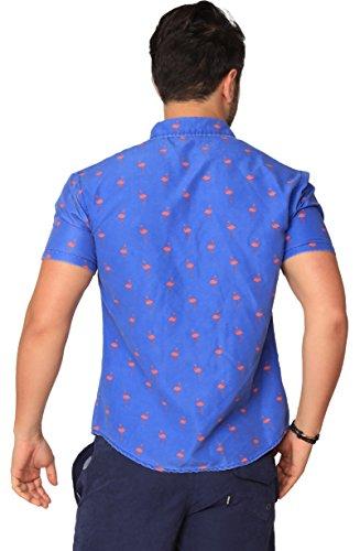 997d80e664b Jual INGEAR Casual Short Sleeve Shirt Tropical Hawaiian Button Down ...