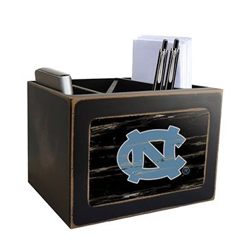 Fan Creations NCAA Distressed Team Logo Desktop Organizer