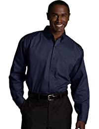 Men's Big And Tall Wrinkle Resistant Twill Shirt