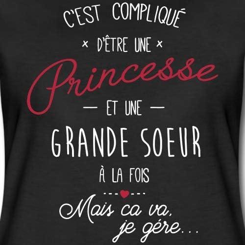 Princesse Et Grande S/œur /À La Fois T-Shirt Premium Femme