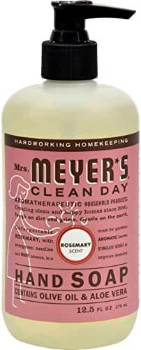 Mrs. Meyers Liquid Hand Soap - Rosemary - 12.5 oz - Pack of 6