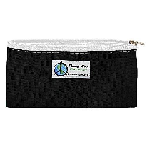 Black Patent Lunch Bag - 7