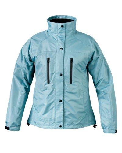 Mossi Ladies RX Rain Jacket (Aqua Blue, Medium) 51-107AQ-14