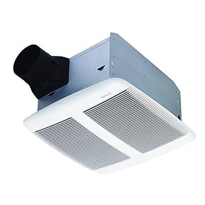 Broan Sensonic Bathroom Exhaust Fan with Bluetooth Speaker, ENERGY STAR Certified, 1.0 Sones, 110 CFM, White