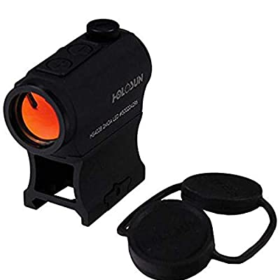 HOLOSUN HS403B Micro Red Dot Sight (2 MOA) with AR Riser by Holosun